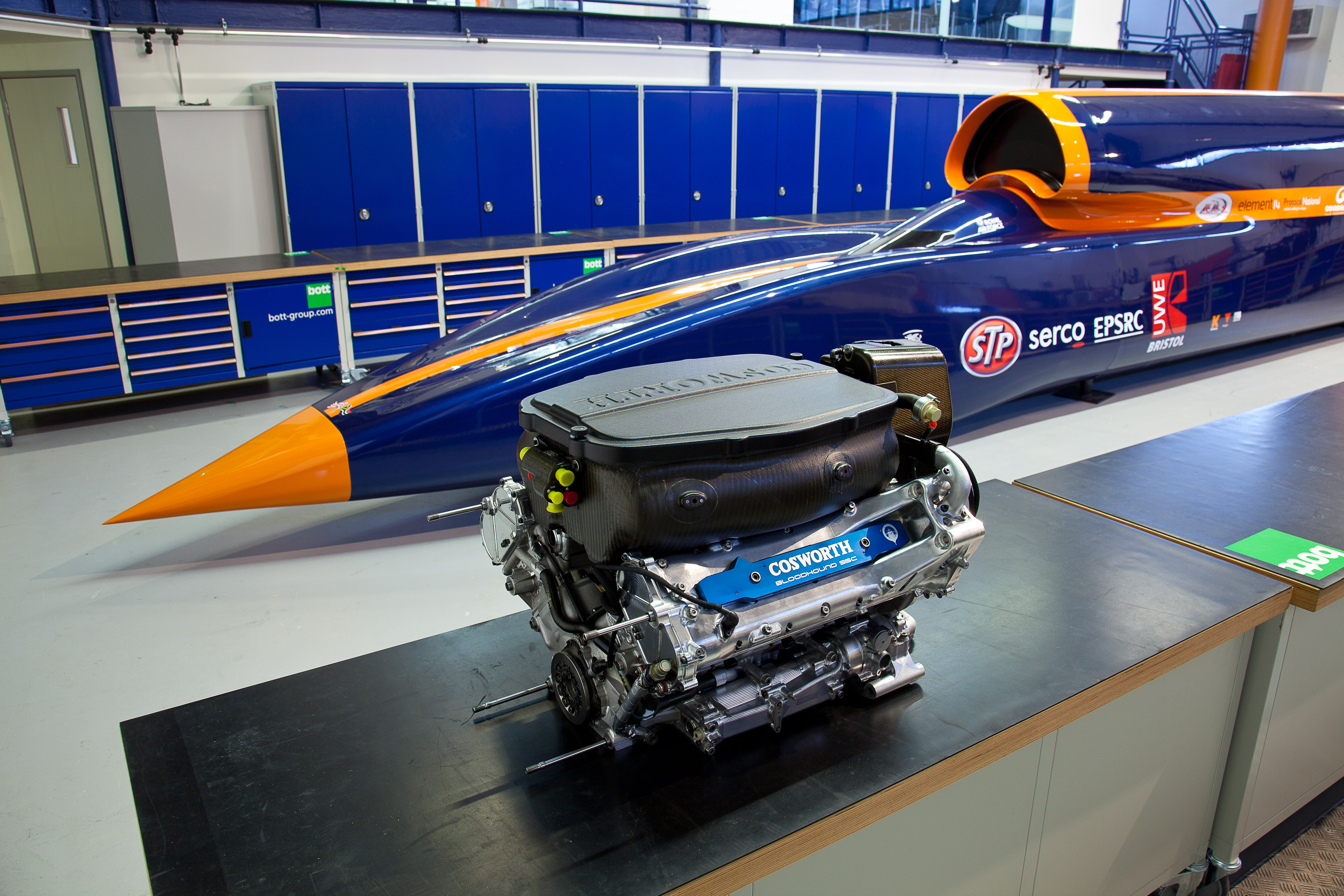 What it takes to go 1000mph