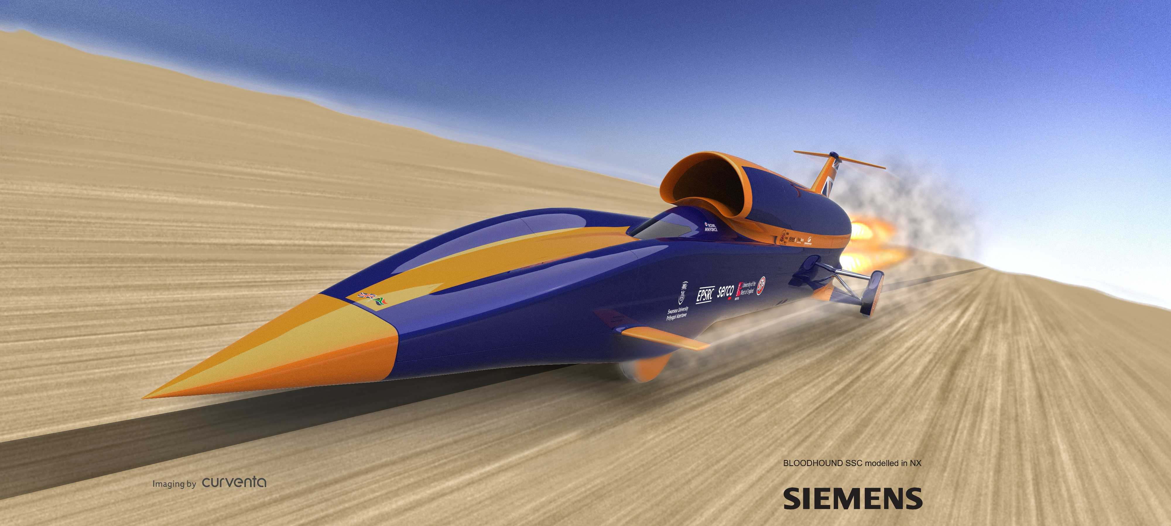 of the Bloodhound SSC.